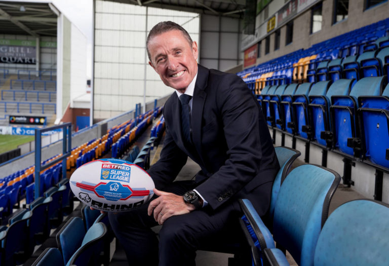 New Rugby League Chief Executive: Commercial Photographer Warrington