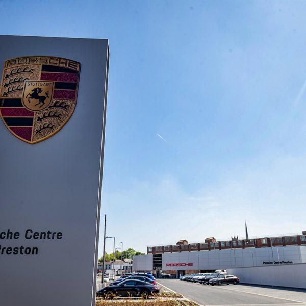 Photographer Preston, The New Porsche Centre