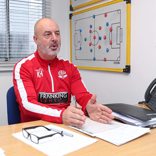 Keith Hill Bolton Wanderers Manager, Editorial Photographer
